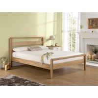 Home Comfort Classique Oak 5' King Size Wooden Bed