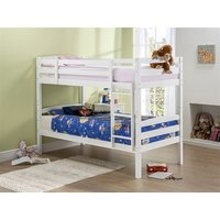 Snuggle Beds Cosmos in White 3' Single Bunk Bed