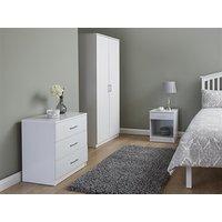 GFW Panama White 3-Piece Bedroom Set Bedroom Set