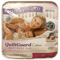 Protect_A_Bed Quilt Guard Cotton Protector 3' Single Protector