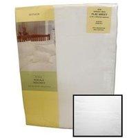 Texmore Restmor Flat Sheet White 3' Single Linen