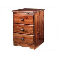 Windsor Savoy Bedside Table - Chocolate Brown Bedside Chest