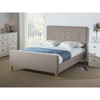 Snuggle Beds Sienna Oat 3' Single Fabric Oat Fabric Bed