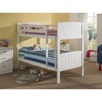 Snuggle Beds Taylor Bunk - White 3' Single Bunk Bed