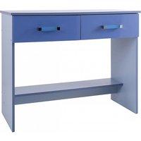 GFW Ottawa 2-Tone Blue Desk  2 Tone Blue Desk