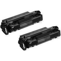 TWINPACK: Canon CartridgeM Remanufactured Black Toner Cartridge