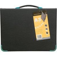 Goldline Presentation Case Vinyl Metal Trim Capacity 25 Sleeves 3 Ring A3 Black Ref BPCJ1A3BKZ
