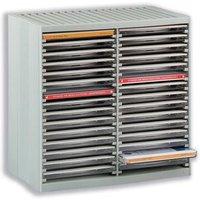 CD Storage Case (Grey) for 30 Disks