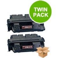 TWINPACK: Canon FX6 Remanufactured Black Toner Cartridge