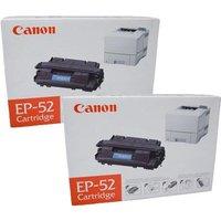 TWINPACK: Canon EP52 Original Black Toner Cartridge