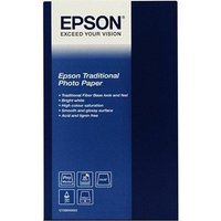 Epson S045052 Traditional Photo Paper A2 330gsm (25 sheets)