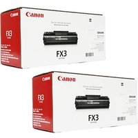 TWINPACK: Canon FX3 Original Black Toner Cartridge