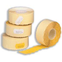 Avery Permanent Adhesive Labels for Avery Hand Labelling Gun (White) 1200 Per Roll Pack of 10 Rolls