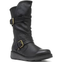 Lilley Womens Brown Distressed Look Pull on Boot