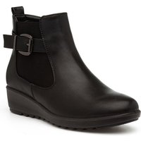 Earth Spirit Womens Brown Leather Ankle Boot