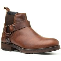 US Brass Mens Ankle Boot in Black