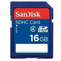 SanDisk Standard - Flash memory card - 16 GB - Class 4 - SDHC