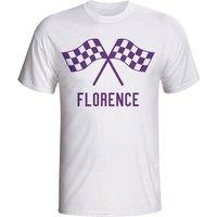 Fiorentina Waving Flags T-shirt (white)