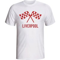 Liverpool Waving Flags T-shirt (white)