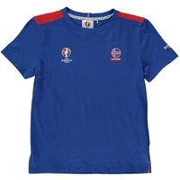 Iceland UEFA Euro 2016 Core T-Shirt (Blue) - Kids