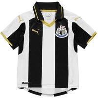 2016-2017 Newcastle Home Football Shirt (Kids)