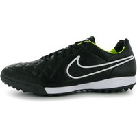 Nike Tiempo Legacy Mens Astro Turf Trainers (Black-Volt)