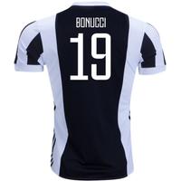 2017-18 Juventus Home Shirt (Bonucci 19)