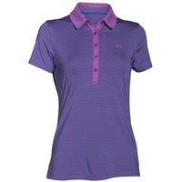 Under Armour Ladies Zinger Short Sleeve Stripe Polo Shirt