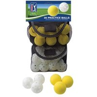 PGA Tour 36 Indoor Outdoor Golf Practice Balls