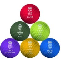 Keep Calm Golf Balls 6 Pack