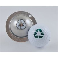 Tin Cup Ball Marker - Go for the Green