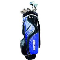 Vector Mens 8 Piece Golf Package Set (Steel/Graphite)
