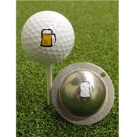 Tin Cup Ball Marker 19th Hole