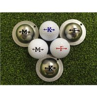 Tin Cup Ball Marker Alpha Players