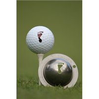 Tin Cup Ball Marker Big Foot