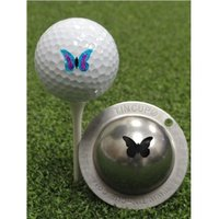 Tin Cup Ball Marker Flutterby