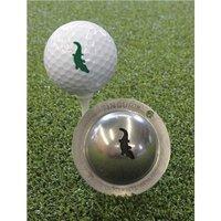 Tin Cup Ball Marker - Gator