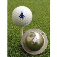 Tin Cup Ball Marker Top Gun