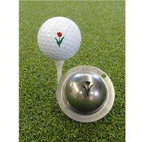 Tin Cup Ball Marker Tracys Tulip