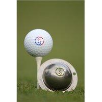 Tin Cup Ball Marker Yin Yang