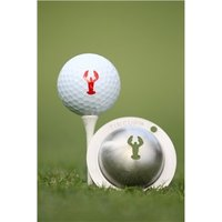 Tin Cup Ball Marker Rock Lobster