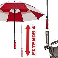 BagBoy Wind Vent 62 Inch Double Canopy Umbrella