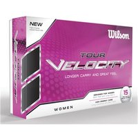 Wilson Staff Ladies Tour Velocity Golf Balls (15 Balls)