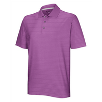 Adidas Mens ClimaCool Textured Solid Polo Shirt