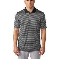 Adidas Mens Tournament 3-Colour Stripe Polo shirt