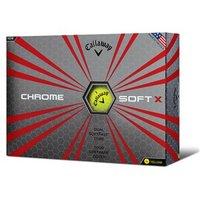 Callaway Chrome Soft X Yellow Golf Balls (12 Balls) 2017