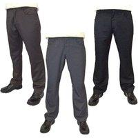 Guide London Mens Plain Golf Trouser (Round Pockets)