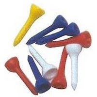 Golf Short Plastic Tees 40pk