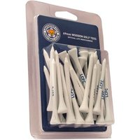 Leicester City Football Club Wooden Tees 30 Pack