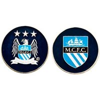 Manchester City 2 Sided Ball Marker
